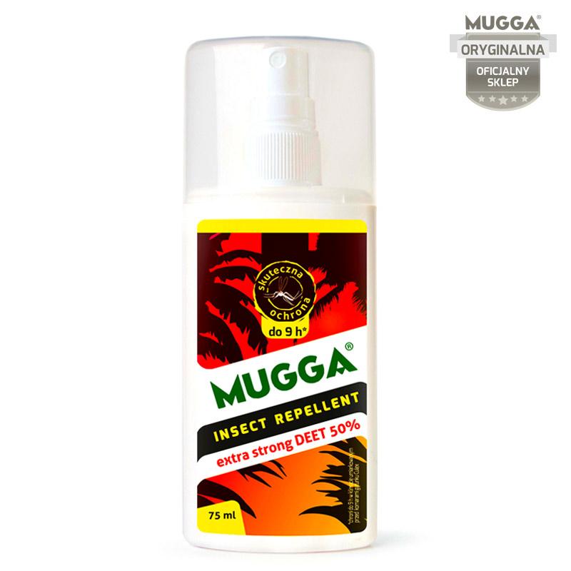 0333ceaecc25 Mugga Spray STRONG 50% DEET na komary i kleszcze