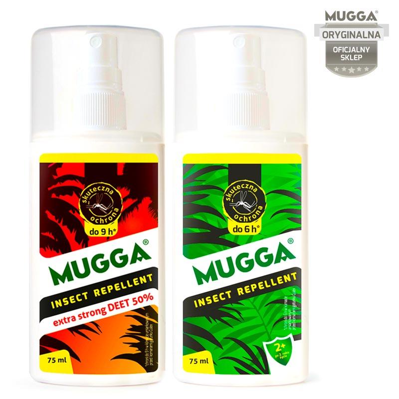 047cca74f31a MUGGA® Spray STRONG 50% DEET + Spray DEET 9